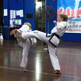 Foot Sparring